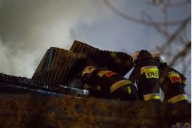Pożart tartaku w Brennej