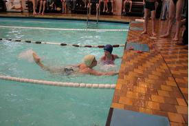 Integracyjne zawody pływackie w Cieszynie
