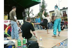 \'\'Street dance\'\' na ustrońskim rynku...