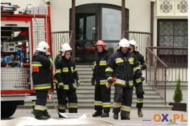 Ćwiczenia Straży Pożarnej w Zebrzydowicach