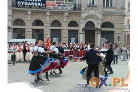 Festiwal Folklorystyczny - występy na rynku