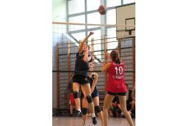 Finał siatkówki dziewcząt w Cieszynie