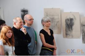 Prof. Anna Kowalczyk-Klus,  finisaż wystawy rysunku