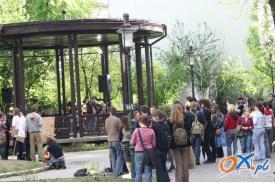 Koncerty w Parku Pokoju