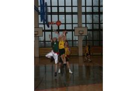Rozgrywki w  koszykówce