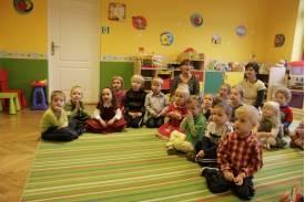 Mikołaj w przedszkolu \'\'Bajlandia\'\'