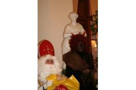 Święty Mikołaj w muzeum...