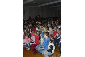 Spotkanie z przedszkolakami i uczniami klas pierwszych...