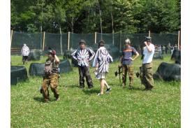 Zawody speedball  na Równicy