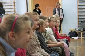 Pasowanie pierwszoklasistów w SPTE w Cieszynie