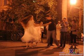 Pokaz Performance w Parku Pokoju