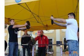 II Mistrzostwa Skoczowa w Dwuboju Siłowym