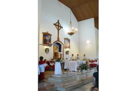 Poświęcenie Ołtarza Bocznego oraz obrazu Matki Boskiej...