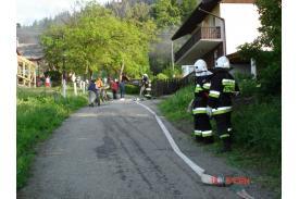 Pożar pod Lipowskim Groniem