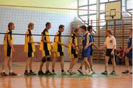 Finał miejski w siatkówce chłopców w Cieszynie