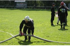 Zawody pożarnicze w Drogomyślu
