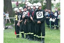 Zawody pożarnicze i zawody \'\'papajów\'\' w Ochabach