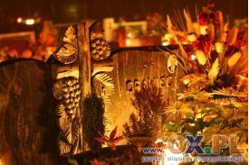 Wszystkich Świętych - wieczorem