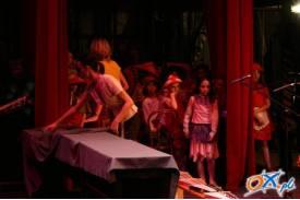 Szkolna ławka artystyczna w cieszyńskim teatrze