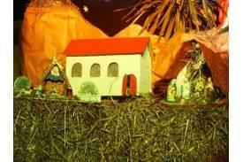 Szopka świąteczna - Skoczów