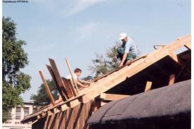 Budowa Kaplicy w Wiślicy