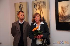 Otwarcie wystawy grafik prof. Anny Kowalczyk-Klus