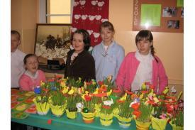 Wystawa na powitanie wiosny