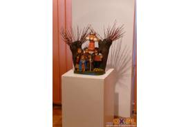 Wernisaż wystawy rzeźby twórcy ludowego Józefa Szypuły