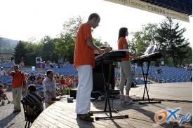Występy w amfiteatrze w Wiśle