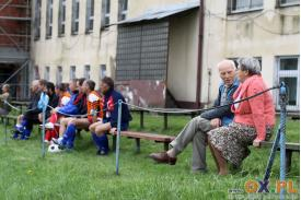 45-lecie działalności LKS Lutnia Zamarski (turniej olbojów)