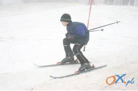 Zawody narciarskie na górze Chełm