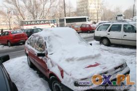 Zima w mieście