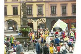 Otwarcie  Zlotu Przodowników Turystyki Kolarskiej
