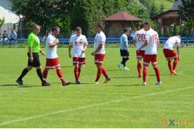 LKS Pogórze - LKS Błękitni Pierściec 3 - 3