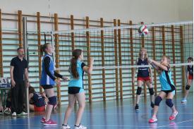 Turniej mini siatkówki dziewcząt