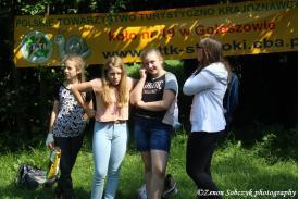 """15 Rajd Młodzieżowy  """"Ścieżkami Gminy Goleszów""""."""