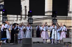 Święto Trzech Braci  -  występ Zespołu Pieśni i Tańca Ziemi Cieszyńskiej