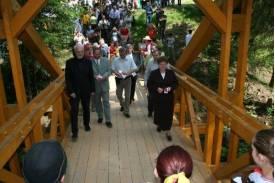 11 lat temu otwarto mostek między Polską a Słowacją na Trójstyku. fot. Jan Bacza