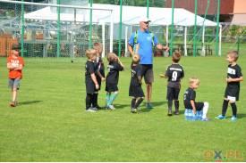 Rodzinnie i sportowo na pikniku piłkarskim w Pogórzu