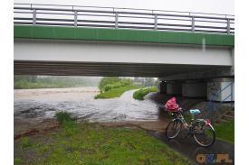 most przy ul. Bielskiej w Skoczowie