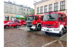 OSP w centrum Skoczowa / fot. KR/ox.pl