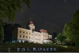 """Fot. Pałac w Kończycach Wielkich podczas """"Nocy Muzeów"""" w 2017 r. Fot. M. Tomica"""