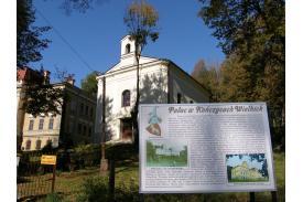 Fot. Przypałacowa kaplica Opatrzności Bożej/archiwum UG Hażlach