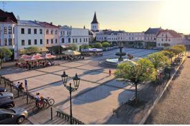 Fot. Położony w historycznym centrum Karwiny rynek. Fot. Městský úřad Karviná