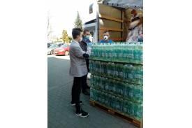 Woda dla szpitala / fot. M Gosek-Szweda