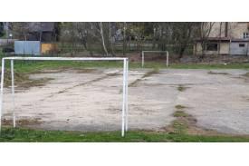 Stare boisko asfaltowe / fot. UG Hażlach
