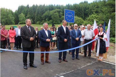 Nowe połączenie komunikacyjne Polska-Słowacja. Fot: MSZ