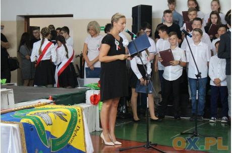 Uroczystość nadania imienia szkole w Dębowcu