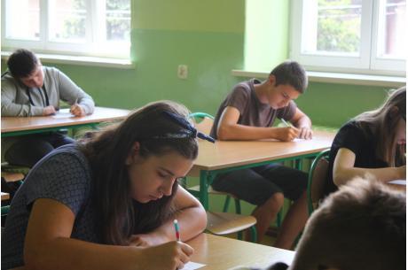 Z wiedzy o regionie egzaminowani byli młodzi mieszkańcy Skoczowa. fot. Jan Bacza