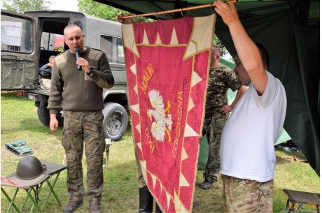 Piknik militarny  -  Kończyce Wielkie 01.07.2018 Fot. Stanisław Konopka